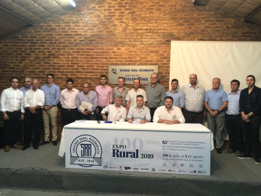 30092019 Juan Luis Capozzolo presidente Nueva comisión directiva Sociedad Rural de Reconquista.jpeg