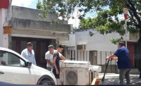 Qué dijo la titular del nodo de salud con respecto a las fotos que circularon en redes sociales que denunciaban un desmantelamiento del Nodo y del viejo hospital de Reconquista.
