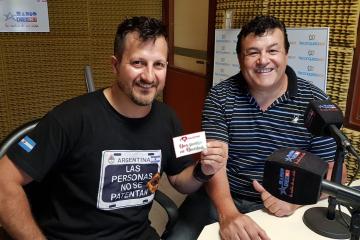 Ariel Sesma y José Luis Vera por la campaña solidaria.jpg