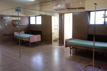 Acondicionamiento del viejo hospital de Reconquista.