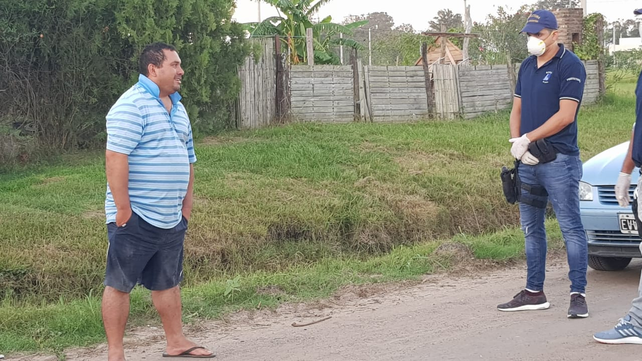 29032020 Héctor Centurión detenido con 3 gl de alcohol prefectura B.jpeg
