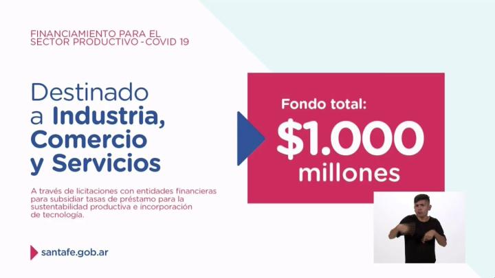 [EN VIVO] Nuevas líneas de financiamiento para el sector productivo santafesino