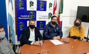 """Reconquista: La Oficina Municipal de Información al Consumidor (OMIC) tendrá a cargo la fiscalización del Programa """"Precios Santafesinos"""".  Detalles del convenio firmado este 28 de mayo de 2020."""