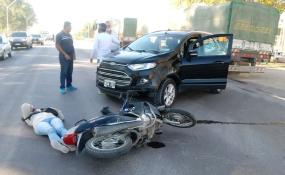 La víctima de un accidente de tránsito que sucedió el miércoles 27 de mayo de 2020, que fue cobertura de RH, contó hoy la mala experiencia que tuvo con la atención del hospital de Reconquista.