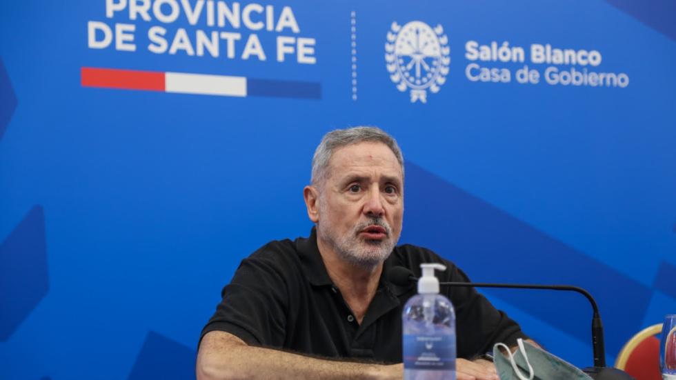 Ministro de Seguridad de la Provincia, Marcelo Saín.