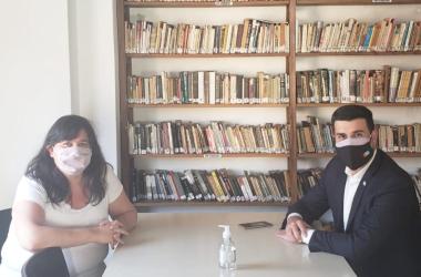 Alejandra Obeid y Marcos Cleri.