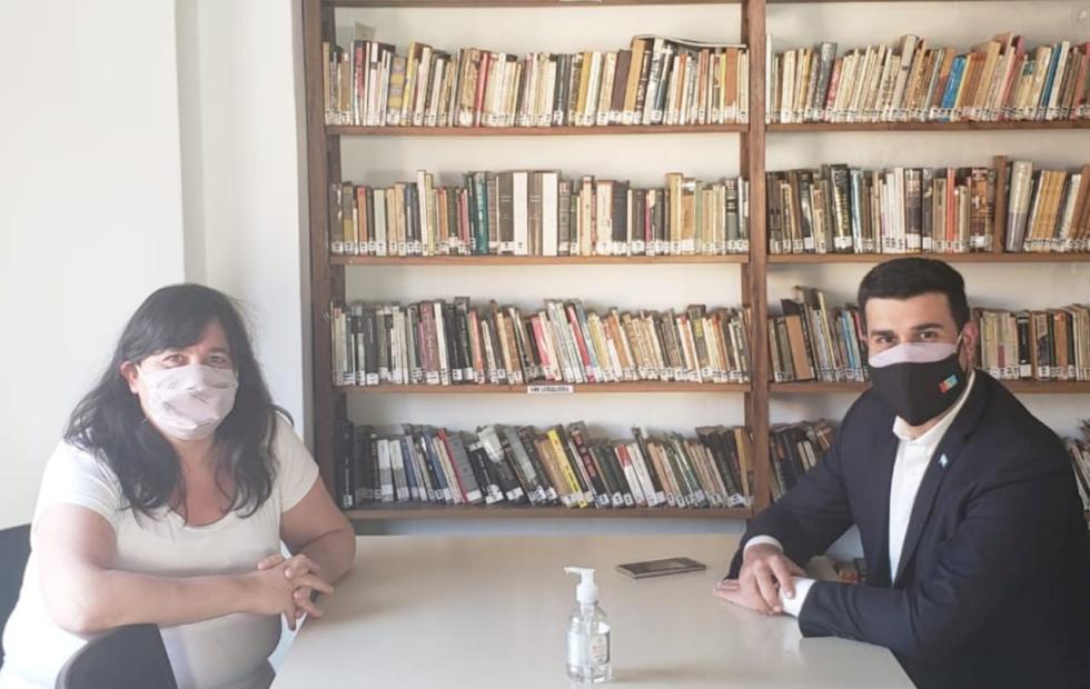 Marcos Cleri y Alejandra Obeid respaldaron la gestión del gobierno nacional.