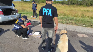 secuestro de 984 gramos de cocaína sábado 13 marzo 2021 detenidos Olga Martínez y Luis Martínez