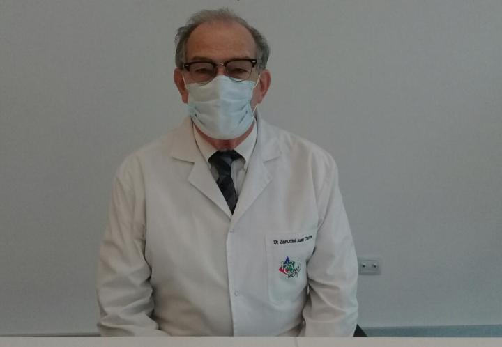 """""""No podemos decir que la pandemia terminó"""", sostuvo el Dr. Juan Carlos Zanuttini, en tal sentido pidió que la población siga estando alerta."""