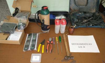 Aprehendieron a tres hombres involucrados en el robo de herramientas a un vecino del barrio Belgrano de Avellaneda.