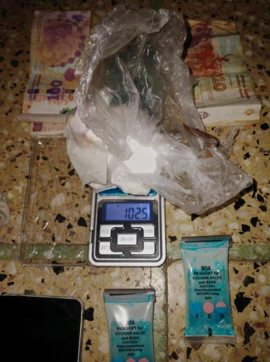 Jesica Romina Retamoso DNI 35.772.659 detenida transportando cocaína en ómnibus