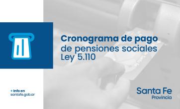 El cronograma de pago de las pensiones sociales