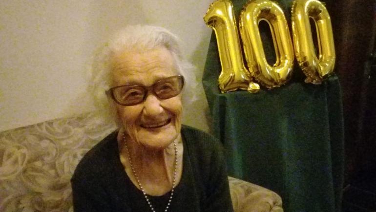 Rita cumplió cien años. .jpeg