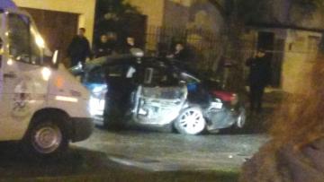 choque fatal policía Exequiel Medina