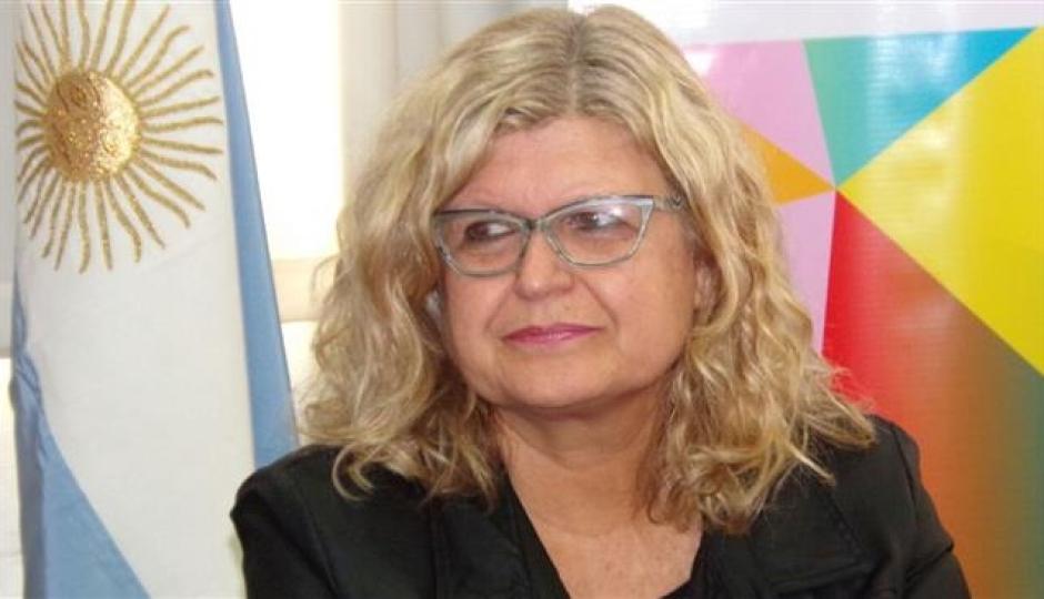 Por las condiciones climáticas desfavorables, suspendieron las actividades de la Ministra de Educación Claudia Balagué.