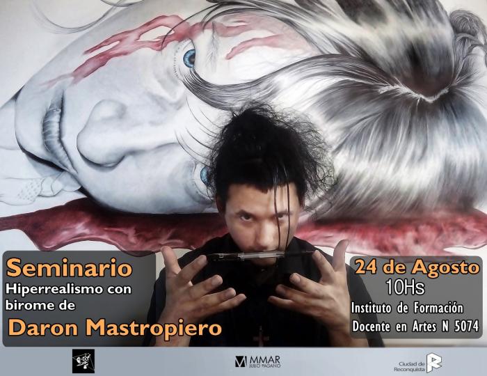Daron Mastropiero llega al Museo Julio Pagano