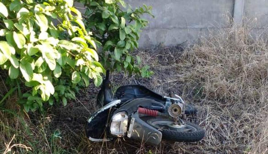 Hallan una moto en estado de abandono, la misma tenía una denuncia de secuestro.