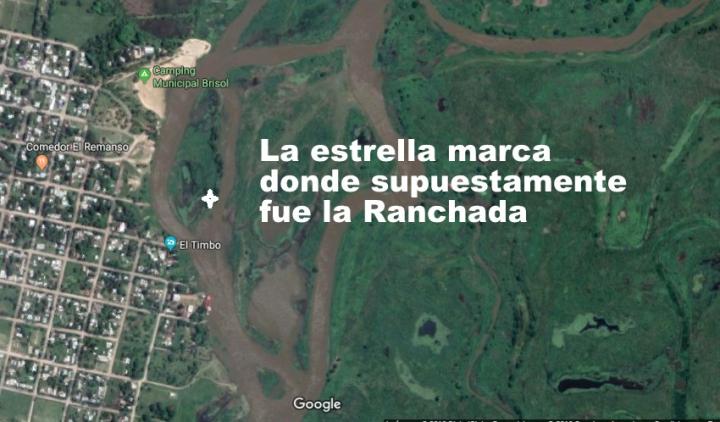 Ranchada donde desapareció Juan Carlos Fernández en Romang.jpg