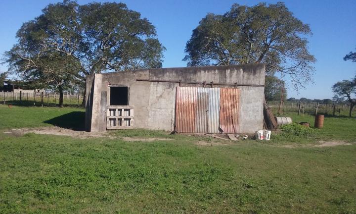 14052019 allanamiento de Gendarmería en casa de campo de José Ubeda en paraje Colmena de Avellaneda drogas armas balanza etc d.jpg