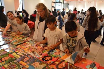 Feria del Libro en Avellaneda.