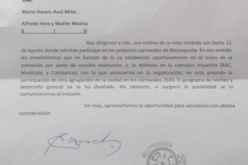 Raúl Miño comparsa O´Bahía