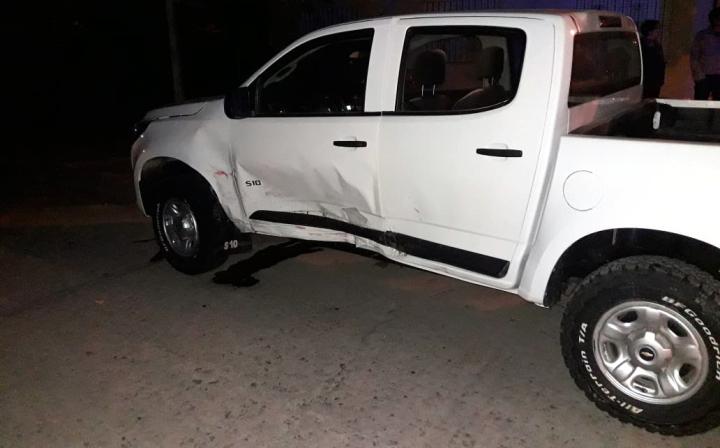 08092019 choque en Malabrigo auto de Ezequiel Muchiut y camioneta de Ernesto Centis.jpg