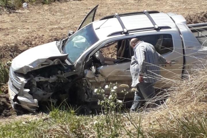 26092019 fatal Jones x Basabilbaso ruta provincial 40 señor en la camioneta.jfif