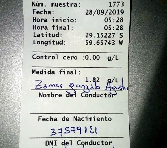 28092019 Gonzalo Agustin Zamer Fiat Palio contra arbol alcoholemia.jpeg