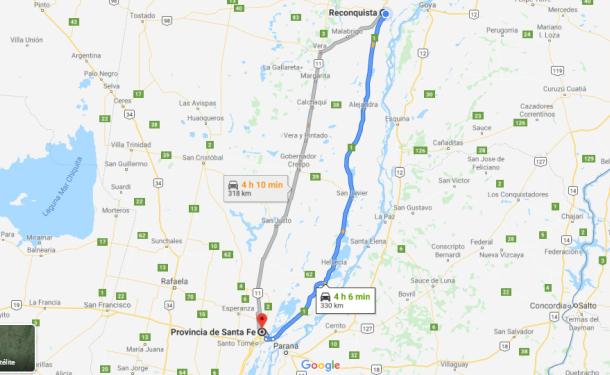 Nuevamente se puede transitar entre Reconquista y Santa Fe tanto por Ruta Nacional 11 como por Ruta Provincial 1.
