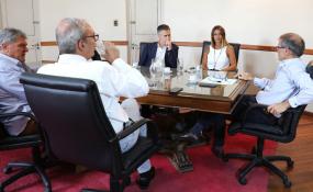 """Borgonovo: """"El diálogo con la oposición es permanente"""". El ministro de Gobierno aseguró que """"hay que sentarse con vocación de encontrar soluciones; por ahí está el camino""""."""