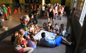 El Gobierno de Malabrigo puso en marcha un programa de Educación Vial, comenzando la iniciativa en la Colonia de Vacaciones.
