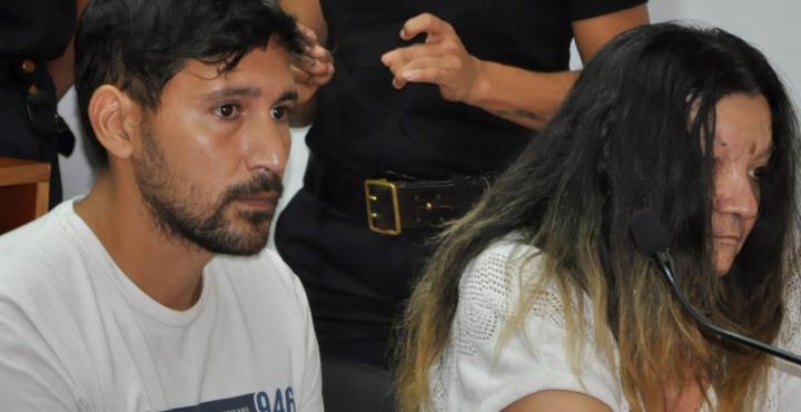 Martín Tomé y su madre Susana Fernández.
