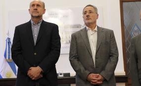 Diputados de Juntos por el Cambio cuestionan la idoneidad de Saín y piden respuestas al gobernador Perotti.