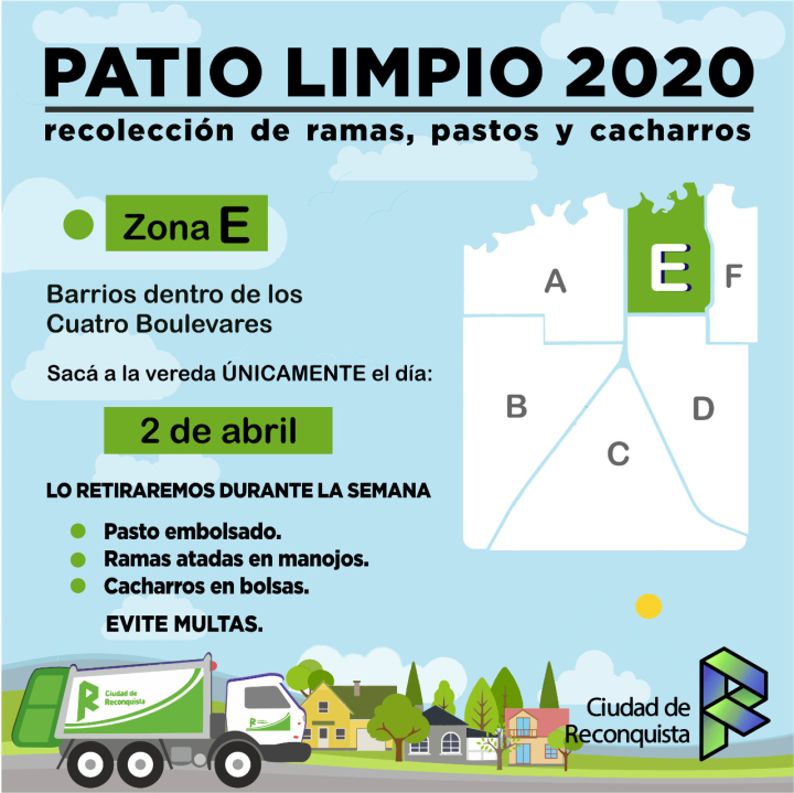 Patio limpio 2020.