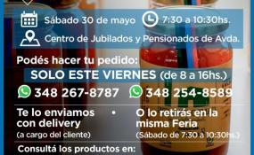 Invitan este sábado a participar de la Feria de Pequeños Productores de Avellaneda.
