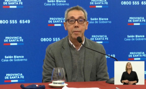 Jorge Prieto anticipó que todos los hisopados que se hicieron dieron negativo. El funcionario de salud también anticipó que dio negativo el hisopado realizado a la mujer embarazada que fue trasladada