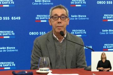 El secretario de Salud adjunto de la provincia, Jorge Prieto