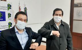 El Intendente puso en funciones al nuevo secretario municipal de Desarrollo Económico y Productivo.