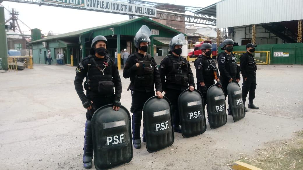 Conflicto Algodonera Avellaneda.