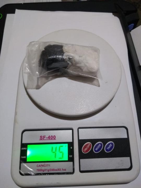 Cocaína secuestrada en San Javier 2021-03-28