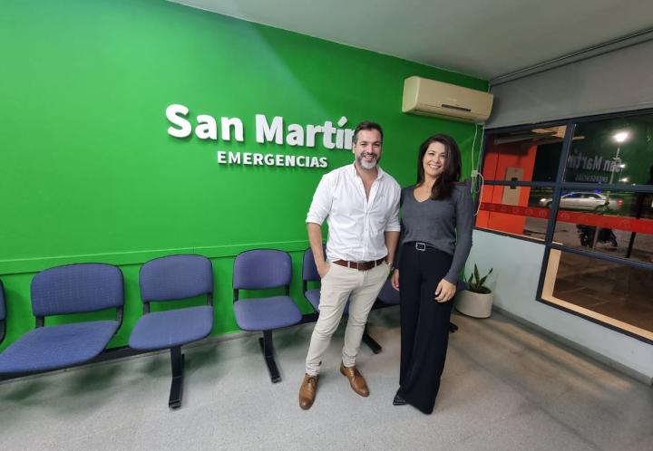 """Lo que conviene saber de """"San Martín"""", el nuevo servicio de emergencias médicas y traslados en Reconquista y para todo el país."""