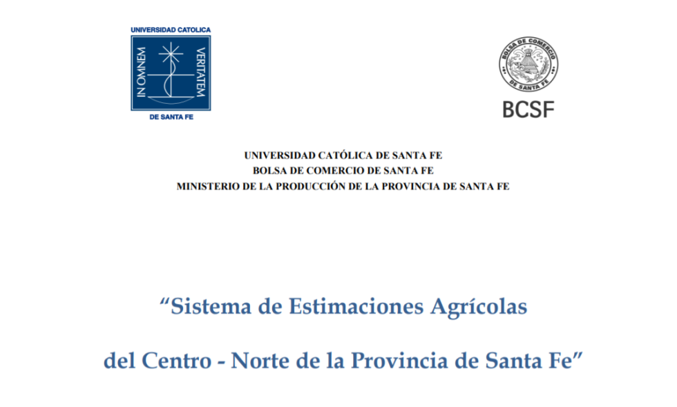Sistema de Estimaciones Agrícolas de la Bolsa de Comercio de Santa Fe y otras instituciones. copy