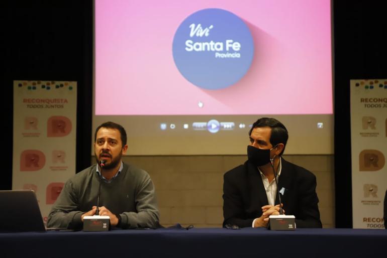 """Presentaron la plataforma on line """"Viví Santa Fe"""" Turismo"""