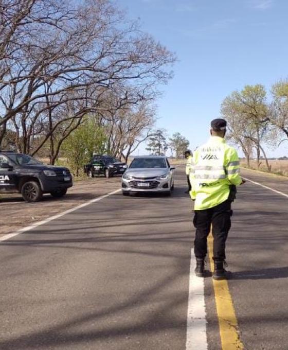 """Personal de la Policía Vial de Santa Fe, Chaco y Corrientes llevan a cabo lo que denominan un """"Operativo Extraordinario"""""""