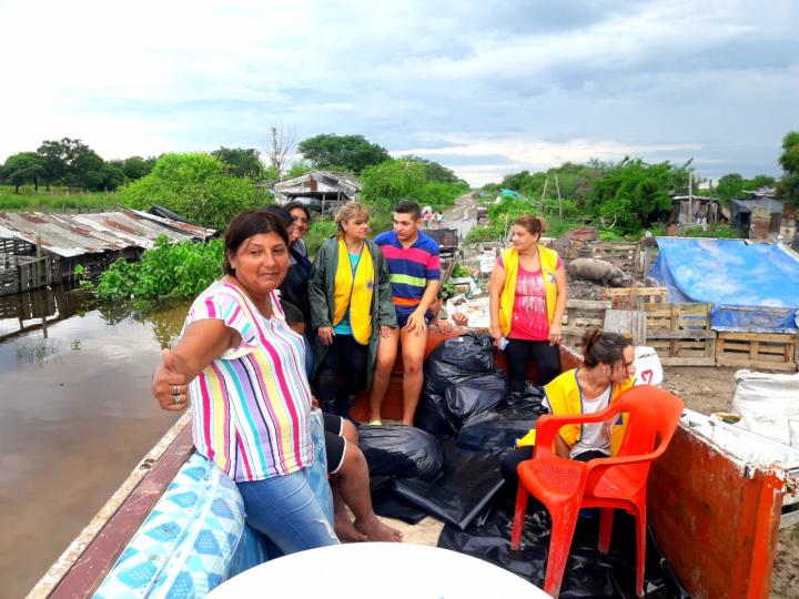 12012019 inundación en el Callejón de Barrio La Cortada ayuda Leones.jfif