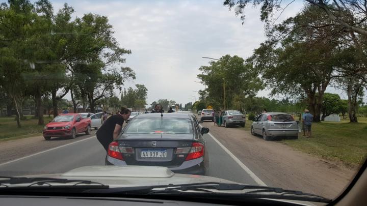 reclamo por autovía en Ruta 11 09 feb 2019 Reco.jfif