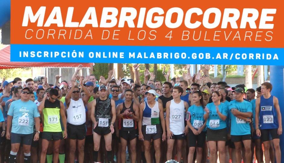 #MalabrigoCorre2019: Puntos de inscripción presencial en Malabrigo y Reconquista desde hoy.