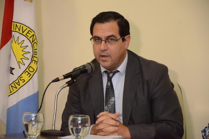 Discurso anual del intendente en el Concejo Enri Vallejos Francisco Sellares c