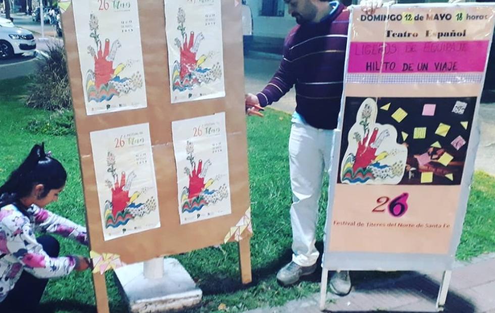 Llega la 26 edición del Festival de Títeres del Norte de Santa Fe.