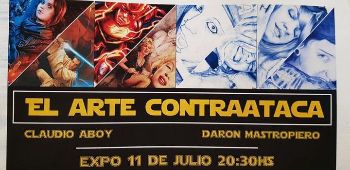 Claudio Aboy y Dáron Mastropiero El Arte Contraataca.jpg